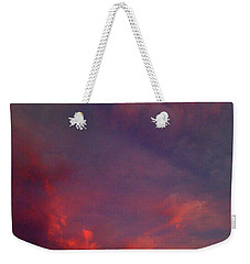 Evening Sunset Paints The Sky Weekender Tote Bag