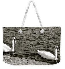 Evening Swim Weekender Tote Bag