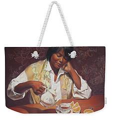 Evening Tea Weekender Tote Bag
