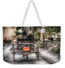 Evening Traveler Weekender Tote Bag