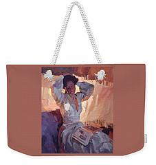 Evening Warmth Weekender Tote Bag