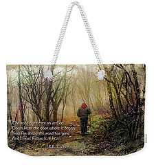Weekender Tote Bag featuring the photograph Ever On And On... by Jessica Brawley