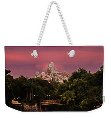 Weekender Tote Bag featuring the photograph Everest Sunset by Sara Frank