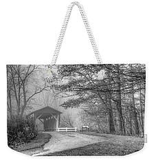 Everett Covered Bridge Weekender Tote Bag by Ann Bridges