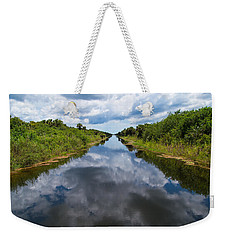 Everglades Canal Weekender Tote Bag by Christopher L Thomley