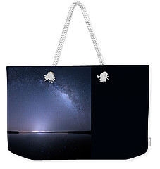 Weekender Tote Bag featuring the photograph Everglades National Park Milky Way by Mark Andrew Thomas
