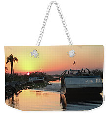 Everglades Sunset Weekender Tote Bag