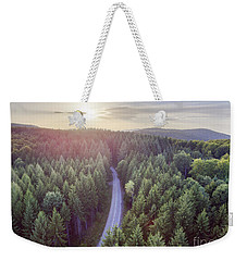 Evergreen Forest From Above Weekender Tote Bag