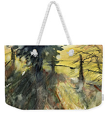 Evergreen Weekender Tote Bag by Judith Levins