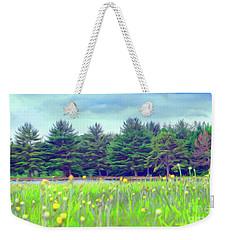 Evergreen Lake - Impressionism Weekender Tote Bag