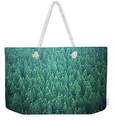Evergreen Weekender Tote Bag