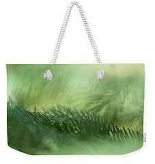 Evergreen Mist Weekender Tote Bag by Ann Lauwers