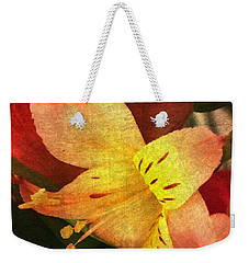 Weekender Tote Bag featuring the photograph Everlasting  by Betty Pauwels