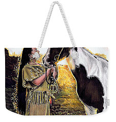 Everlasting Love A Maiden And Spot Weekender Tote Bag