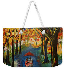Everlasting Love Weekender Tote Bag by Leslie Allen