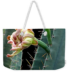 Every Cactus Flower Has It's Thorns  Weekender Tote Bag