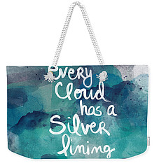 Every Cloud Weekender Tote Bag by Linda Woods