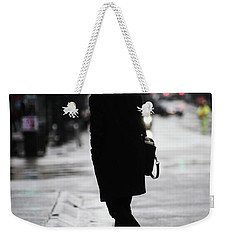 Weekender Tote Bag featuring the photograph Every One Pays  by Empty Wall