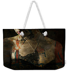 Weekender Tote Bag featuring the digital art Every Picture Tells A Story by Paul Lovering