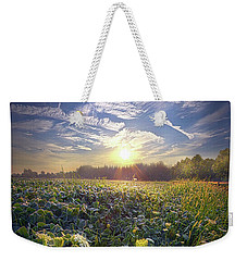 Weekender Tote Bag featuring the photograph Every Sunrise Needs Its Day by Phil Koch