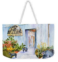 Everyone Welcome Weekender Tote Bag