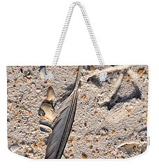 Weekender Tote Bag featuring the photograph Evidence by Jan Amiss Photography
