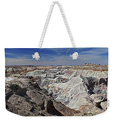 Weekender Tote Bag featuring the photograph Evident Erosion by Gary Kaylor