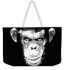 Evil Monkey Weekender Tote Bag by Nicklas Gustafsson