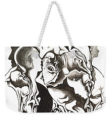 Evolution In Mind  Weekender Tote Bag