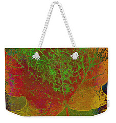Evolution Of Life Weekender Tote Bag