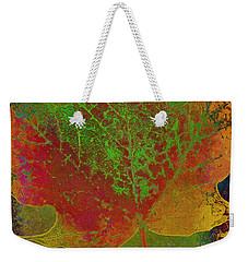 Evolution Of Life Weekender Tote Bag by Deborah Benoit