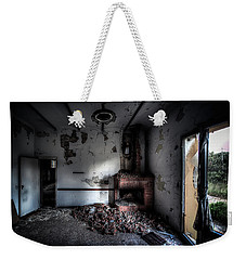 Weekender Tote Bag featuring the photograph Ex Conservificio - Former Cannery I by Enrico Pelos