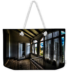 Weekender Tote Bag featuring the photograph Ex Conservificio - Former Cannery IIi by Enrico Pelos