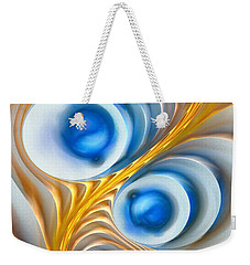 Weekender Tote Bag featuring the digital art Exaggeration by Anastasiya Malakhova