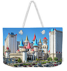 Excalibur Casino From The North 2 To 1 Ratio Weekender Tote Bag by Aloha Art