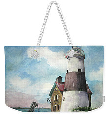 Execution Rocks Lighthouse Weekender Tote Bag