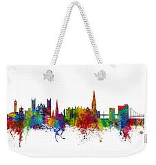 Exeter England Skyline Weekender Tote Bag