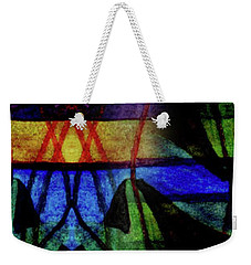 Existing In Thought Weekender Tote Bag by R Kyllo