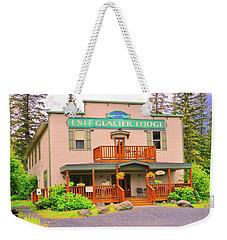 Exit Glacier Lodge Weekender Tote Bag