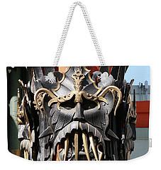 Exotic Chinese Mask Weekender Tote Bag