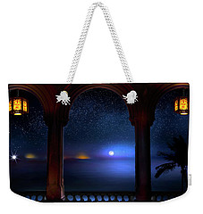 Weekender Tote Bag featuring the photograph Exotic Night by Mark Andrew Thomas