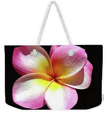 Exotic Plumeria Weekender Tote Bag