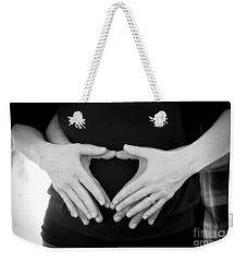 Expecting Love Weekender Tote Bag