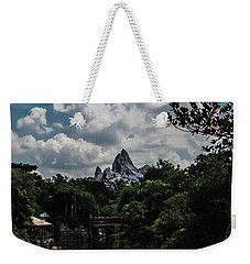 Weekender Tote Bag featuring the photograph Expedition Everest by Sara Frank