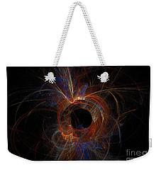 Experiment 9 Weekender Tote Bag by Geraldine DeBoer