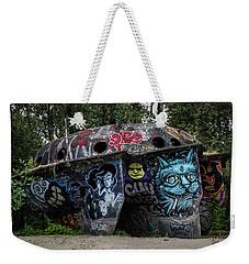 Experimental Graffiti Weekender Tote Bag