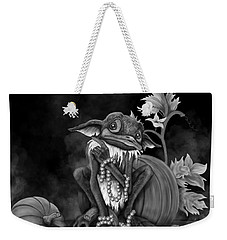 Explain Yourself - Black And White Fantasy Art Weekender Tote Bag