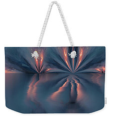 Exploding Butterfly Weekender Tote Bag