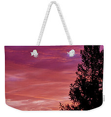 Exploding Color Weekender Tote Bag
