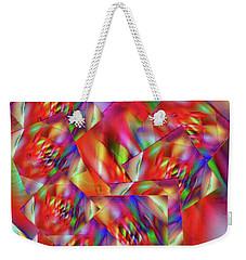 Exploring Colors Weekender Tote Bag by Gayle Price Thomas